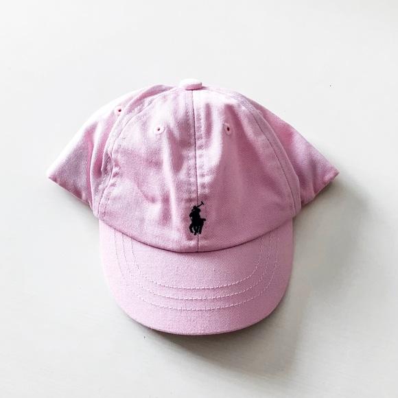 fe227c7e8ed8a Baby Girl Pink Cotton Chino Baseball Cap